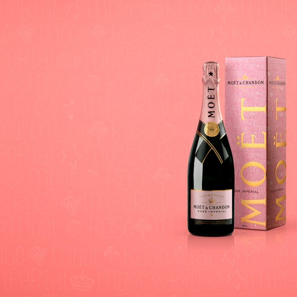 Moet & chandon champagne luxe ui design cover - mael burgy